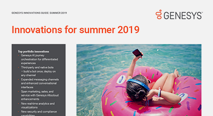 Genesys summer innovations pureengage flyer resource center en