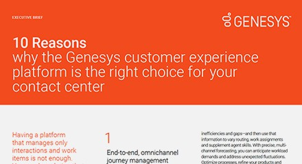 10 reasons why the genesys customer experience eb resource center en