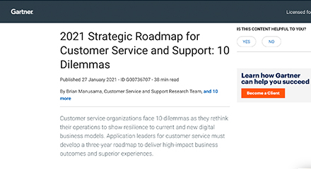 2021 strategic roadmap for customer service and support resource centre 440x240px