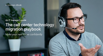 call center technology migration playbook