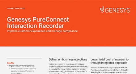 Interaction recorder