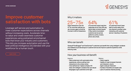 Play 3 improve customer satisfaction with bots offer overview resource center en