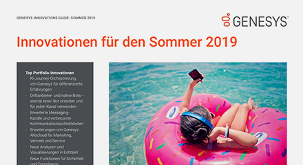 Genesys summer innovations pureengage flyer social de