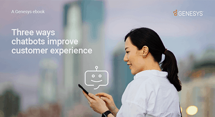 Three ways chatbots improve customer experience