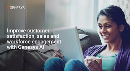 Improve customer satisfaction, sales and workforce engagement with AI