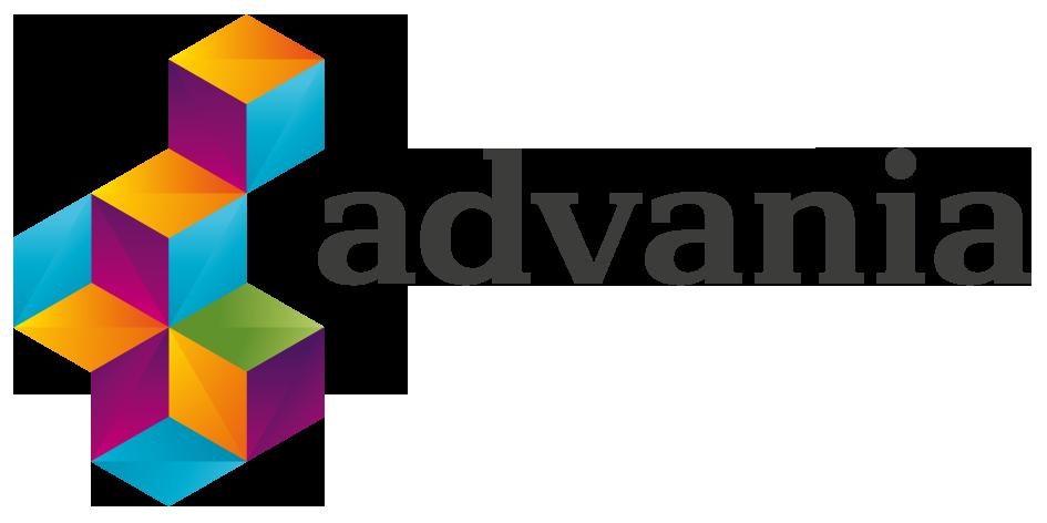 Advania color logo black cmyk 945×472