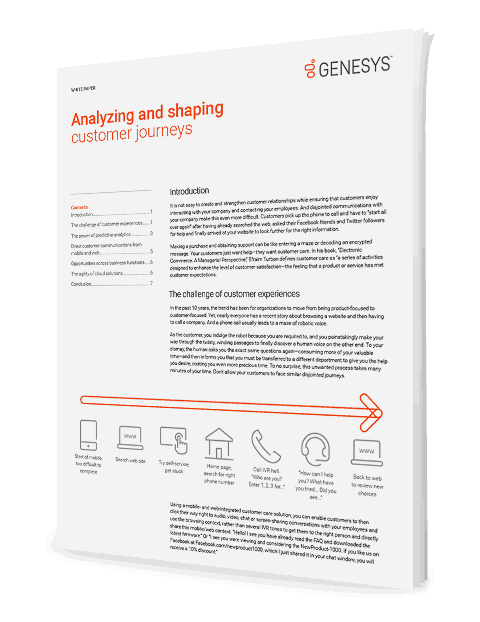 Analyzing and shaping customer journeys wp 3d en