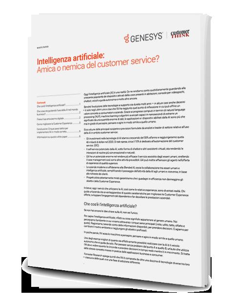 Artificial intelligence friend or foe of customer service thumbnails 3d en