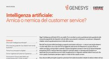 Intelligenza Artificiale: Amica o nemica del customer service?