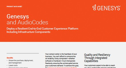 Audiocodes ds resoure center en