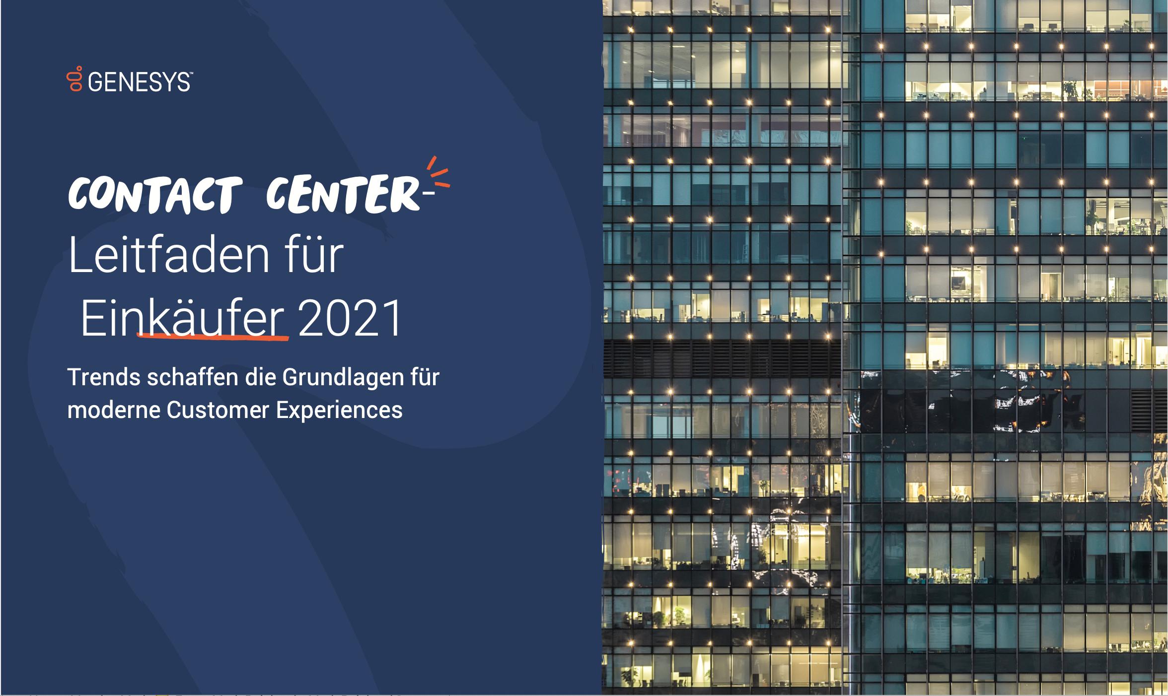 Contact center buyers guide 2021 dach de