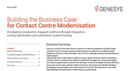 Building the business case for contact centre modernisation wp resource center qe anz
