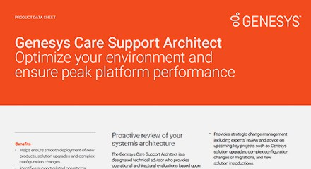 Care support architect ds resource center en