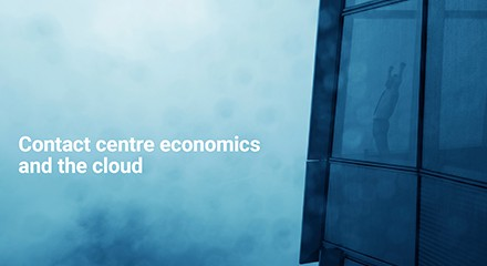 Contact center economics cloud eb esource center qe anz