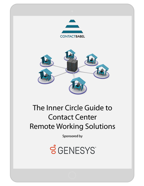 Contactbabel the inner circle guide to contact center 3d