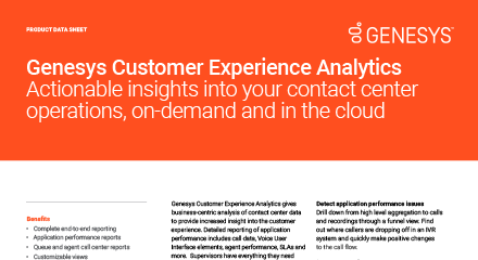 Customer experience analytics resource center en