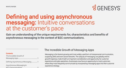 Defining using asynchronous messaging wp resource center en