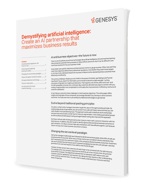 Maximise business results with ai