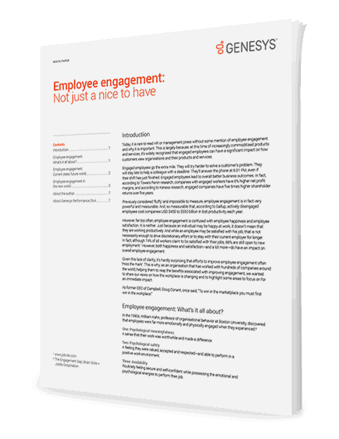 Employee engagement not just a nice to have wp 3d uk