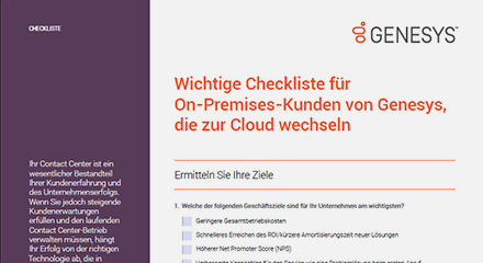 Essential checklist for genesys on premises customers cl de thumbnail kit resource center