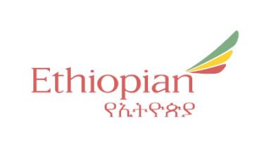 Ethiolian airlines wht bg
