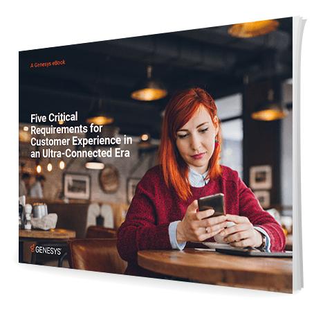 Five critical requirements customer experience 3d en
