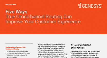 Five ways true omnichannel routing can improve your customer experience ex resource center en