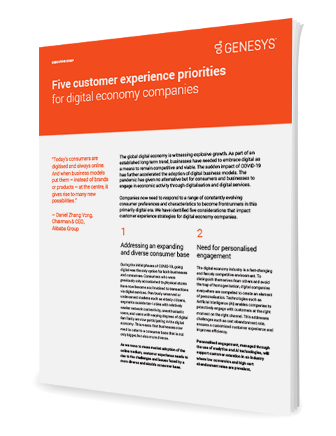 Five customer experience priorities thumbnails 3d