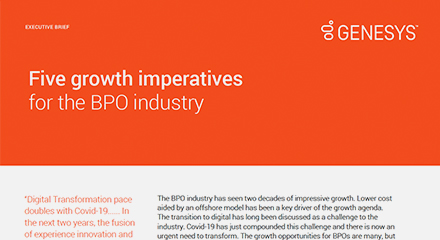 Five growth imperativesfor the bpo industry thumbnails resource center