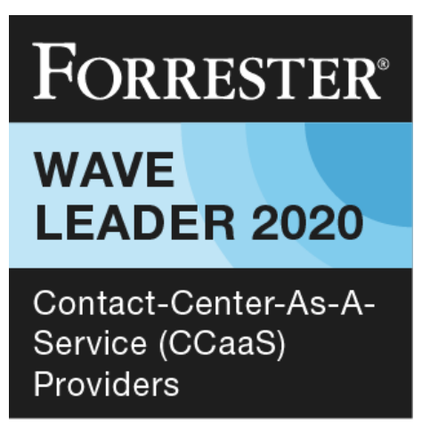Forrester wave ccaas 2020