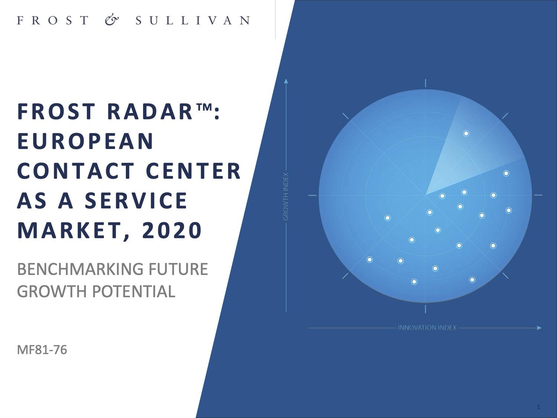 Frost radar european ccaas 2020 genesys