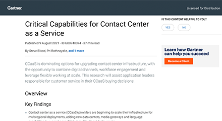 Gartner critical capabilities for ccaas resource centre 440x240px