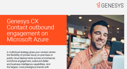 Genesys cx contact outbound engagement on microsoft azure resource centre 440x240px
