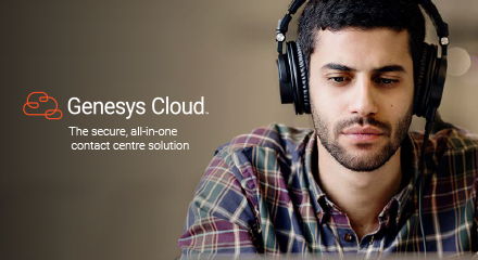 Genesys cloud  the secure, all in one contact centre solution rc 440x240px