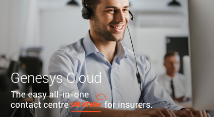 Genesys cloud  the secure, all in one contact centre solution for insurers rc 440x240px