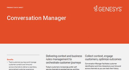 Genesys conversation manager ds resource center en