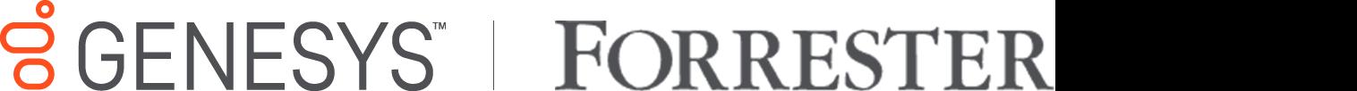 Genesys   forrester logo