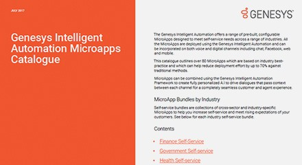 Genesys intelligent automation ts resource center en