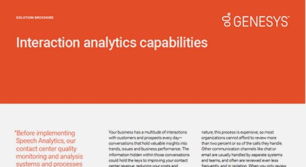 Genesys interaction analytics capabilities sb resource center en