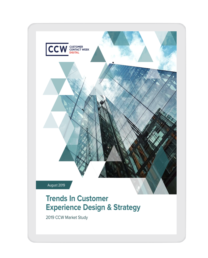 Genesys market study trends in cx design & strategy