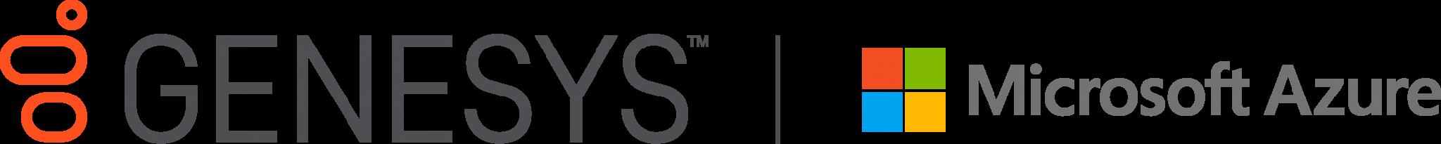 Genesys microsoft azure logo color
