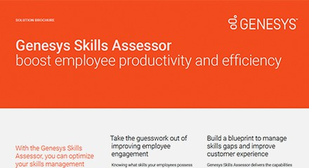 Genesys skills assessor sb resource center en
