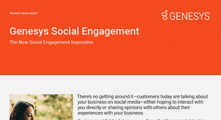 Genesys social engagement ds resource center en
