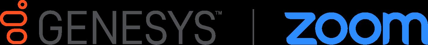 Genesys zoom partnership logo