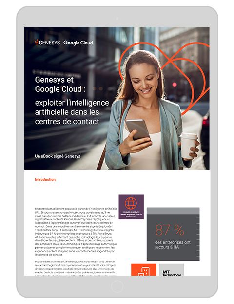 Genesys and google eb paper tablet fr