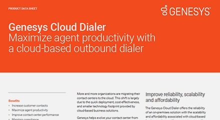 Cloud dialer