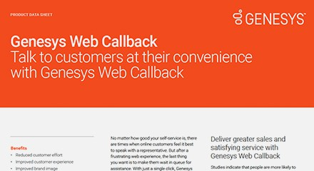 Genesys web callback product ds resource center en
