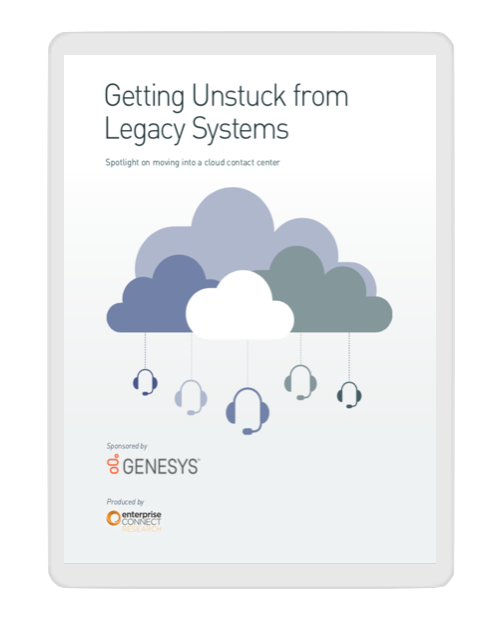 Getting unstuck from legacy systems   enterprise connect