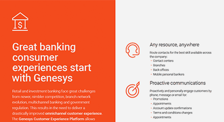 Great banking consumer experiences start with genesys br resource center en