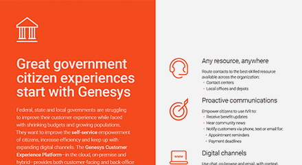 Great government citizen experiences start with genesys br resource center en